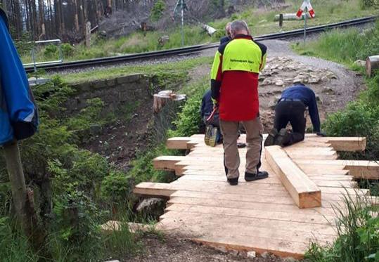 Sanierung der Goethebrücke, Foto: Martin Bollmann
