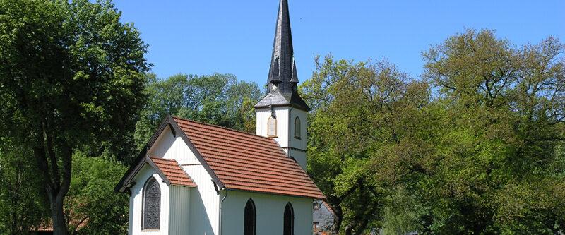 Kleinste Holzkirche Elend