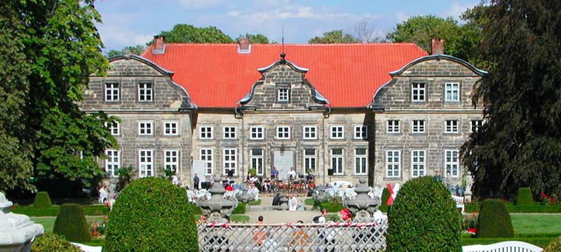 Kleines Schloss in Blankenburg