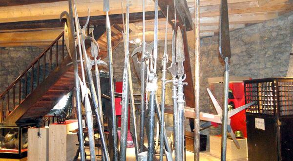 Waffen im Zwinger Goslar