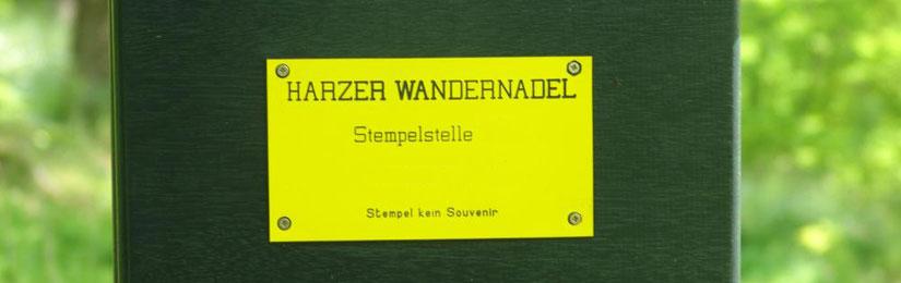 Harzer Wandernadel Stempelkasten