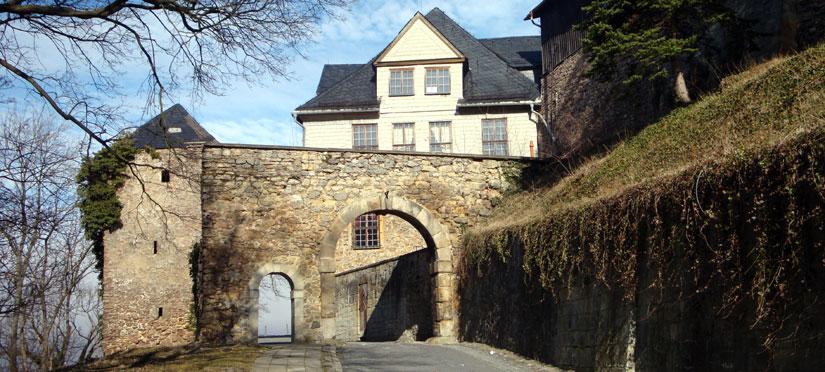 Aufgang zum Großen Schloss Blankenburg