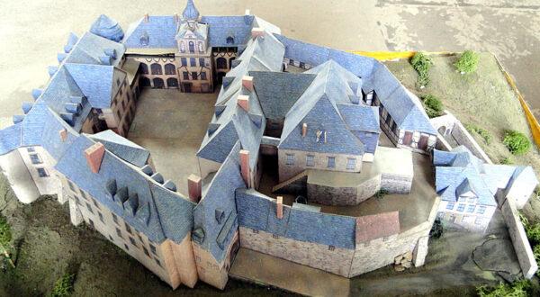 Modell Großes Schloss Blankenburg