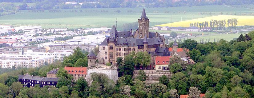 Wernigerode mit Schloss
