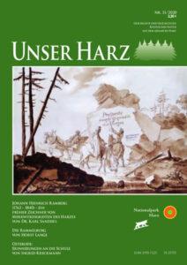 Unser Harz Titelbild 11 2020