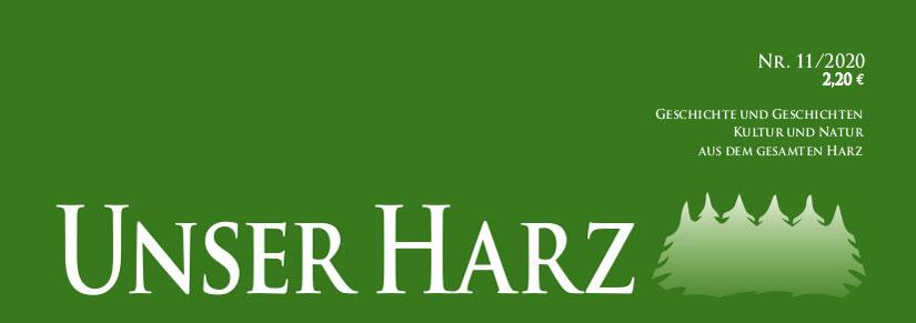 Titel Unser Harz 11 2020