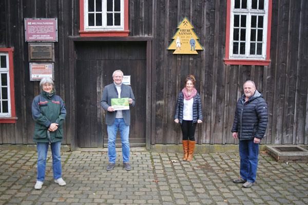 Auszeichnung NaturVersteher Harz- Grube Samson