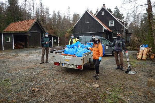 Müllsammelaktion der Geocacher, Foto: Markus Gründel