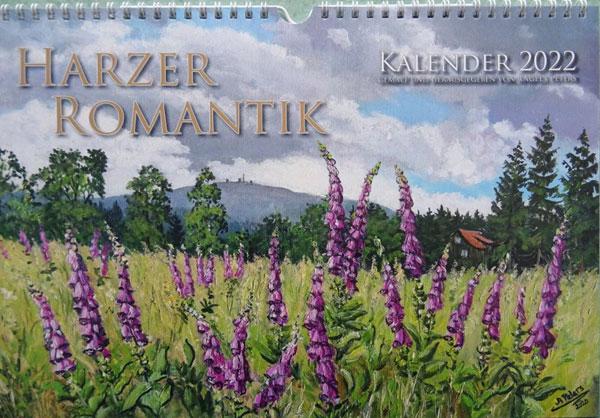 Kalender 2022 der Harzmalerin Angela Peters