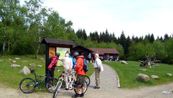 Rangerstation am Scharfenstein, Foto: Evelyn Borsch